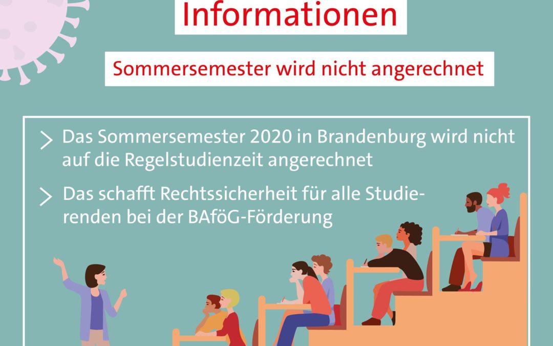 Corona-Bonus für Brandenburger Bafög-Studenten