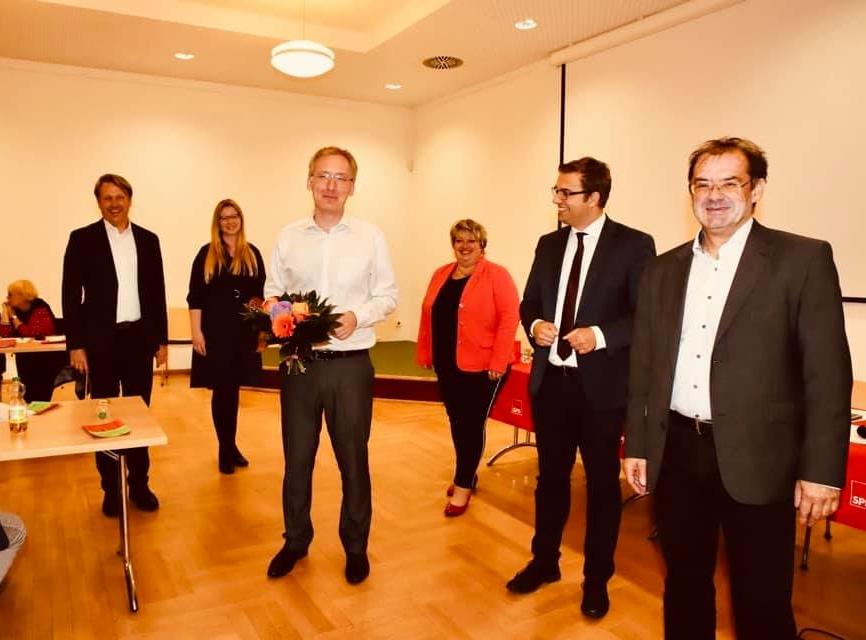 Mathias Papendieck tritt bei der Bundestagswahl für die SPD an