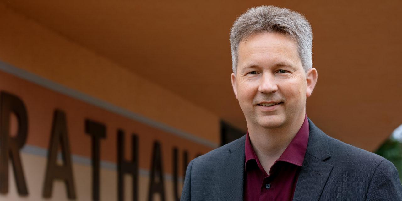 Halbzeit für Bürgermeister Ralf Steinbrück