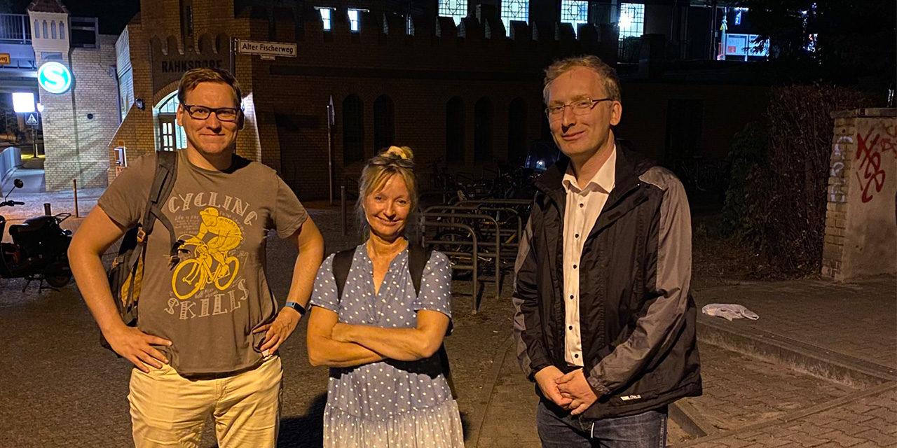 Länderübergreifende Kooperation der SPD-Fraktionen für Fahrradabstellplätze am S-Bahnhof Rahnsdorf
